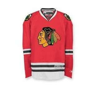 com Chicago Blackhawks NHL 2007 RBK Premier Youth (Size 14 18) Hockey