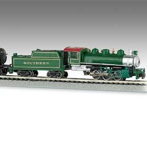: The Southern Belle N Scale Steam Locomotive Train Set: Toys & Games
