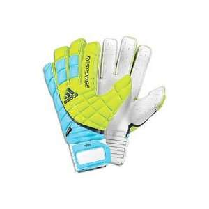 adidas Response Pro Motion Arrester Gloves   Slime/Super Cyan/Power