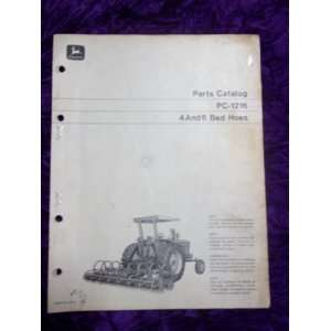 John Deere 4/6 Bed Hoes PC 1216 OEM Parts catalog: John