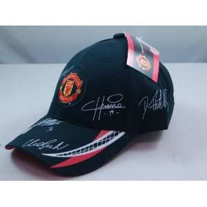 FC MANCHESTER UNITED OFFICIAL TEAM LOGO CAP / HAT   MU020