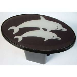 Dolphins Trailer Hitch Cover Plug for Cars, Trucks, SUVs