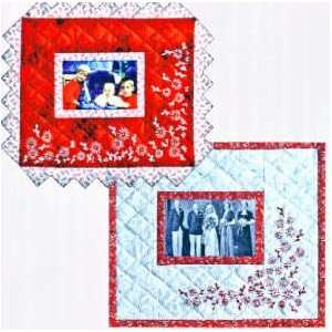 Redwork Snapshots Memory Quilt Pattern by Jean Boyd Arts