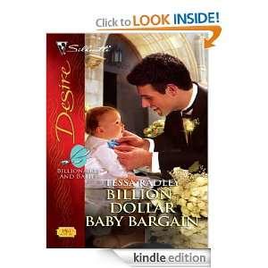 Billion Dollar Baby Bargain (Silhouette Desire): Tessa Radley: