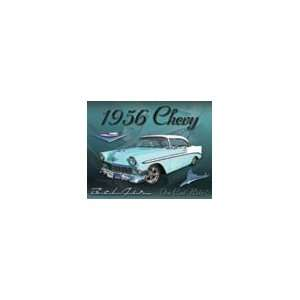 Tin Sign #1607   1956 Chevy Bel Air: Everything Else