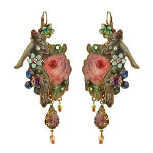 Eye catching 20th Century Collection Michal Negrin Earrings Ornamented