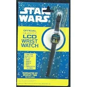 Star Wars Official Quartz LCD Wrist Watch Toys & Games