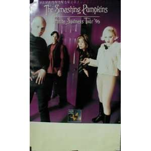 Smashing Pumpkins Infinite Sadness Tour 1996 Poster