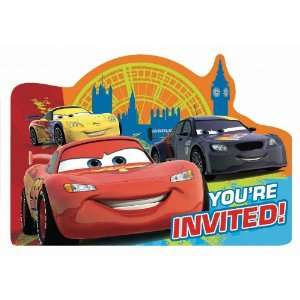 Disney Cars Invitations 8ct [Toy] [Toy] Toys & Games