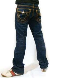 RELIGION Mens Super Combo Stitch Ricky Big QT Dark Retribution Jeans