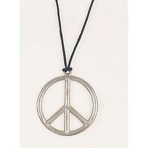 Lot of 6 70s Party Favors   PEACE SIGN NECKLACES