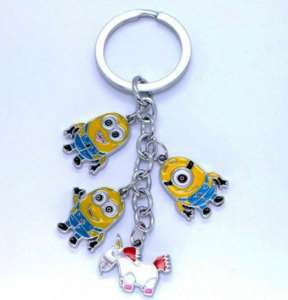 DESPICABLE ME collectable minion keyring Charm Keychain
