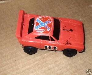 WARNER BROS 1980 GENERAL LEE FRICTION CAR PLASTIC DIECA