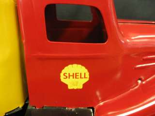 1930s Wyandotte Pressed Steel SHELL OIL Toy Truck
