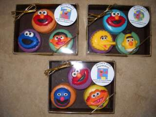 Chocolate Oreo Sesame Street Elmo Cookie Zoe Big Bird Oscar Lollipops