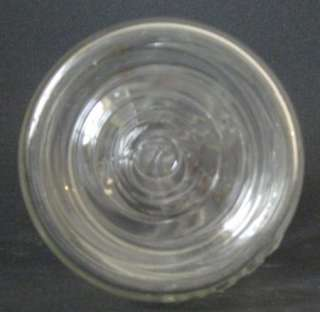 Clear Vintage Ball Ideal Jar