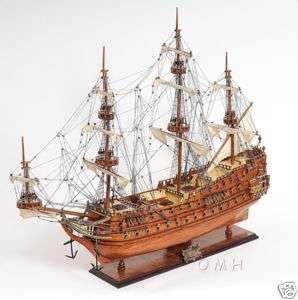 Dutch Zeven Provincien Wooden Built Model Tall Ship 36