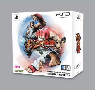 STREET FIGHTER X VS TEKKEN ASIA SPECIAL EDITION PS3 VIDEO GAME