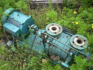 10930 008 5 hp Vacuum pump Kinney model KLRC 40SF