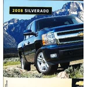 2008 Chevrolet Chevy Silverado Truck Dealer Sales Brochure