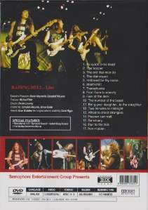Iron Maiden Raising Hell DVD