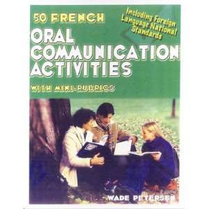 French Oral Communication Activities Book Teachers Discovery Books
