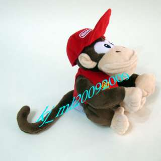 NEW Super Mario 15cm Diddy Kong Plush Doll Figure