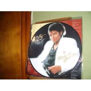 Michael Jackson 25 Thriller Pitcure Disc Lp Everything