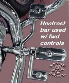 minute and fit most all standard highway foot pegs and Harley mounts