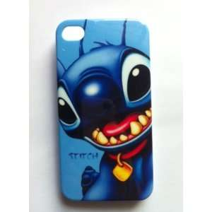 Disney Lio Stitch IPhone 4 4G Hard Case Cover Cell Phones