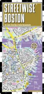 Streetwise Boston Map   Laminated City Center Street Map of Boston