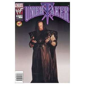 Undertaker Chaos Comics WWF #1   Photo Cover: Chaos