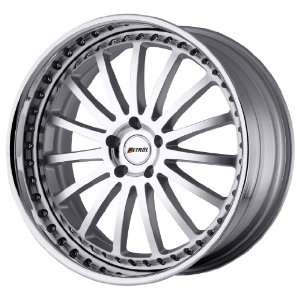 Petrol Wheels Faust Hyper Silver Wheel with Chrome Lip (20x9/5x120mm)