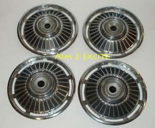 Chevy Chevelle 1964 1965 Factory Wheel Covers Hubcaps