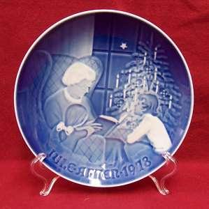 1978 CHRISTMAS PORCELAIN BING & GRONDAHL PLATE DENMARK