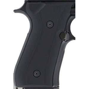 Hogue Beretta 92 Grips G 10 Solid Black