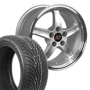 17 Fits Mustang (R) Cobra R Deep Dish Style Wheels tires