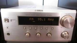 Yamaha RX E400 Stereo Receiver CDC E500 3 Disc Player & Pair NX E400