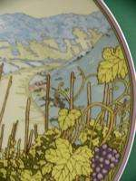 d821 Grape picker in Autumn on 9½ Heinrich Plate 1989