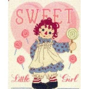 Raggedy Ann Sweet Little Girl Cross Stitch Leaflet Arts