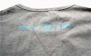 New Roberto Cavalli Mens Peafowl T shirt M,L,XL,XXL #2603