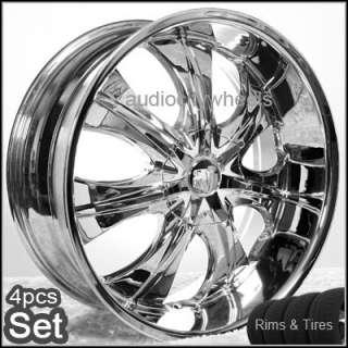 22 inch Wheels&Tires,Rims Chevy Ford,Escalade Ram F150