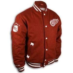 Detroit Red Wings Wool Varsity Jacket