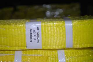 x12, Tow Strap&Lifting Sling2Ply,WLL6400lbs New