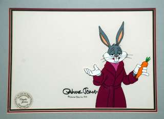Bugs Bunny Production Cel Signed Chuck Jones 1979