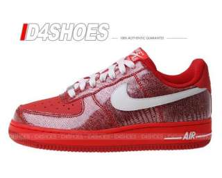 Nike Wmns Air Force 1 07 LE Beet Red Snake Pack Shoes 315115615