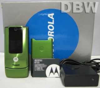 NIB MOTOROLA W510 GREEN UNLOCKED AT&T TMOBILE GSM PHONE