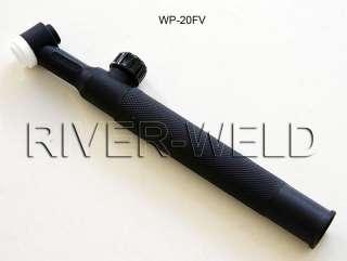 WP 20FV Flexible & Valve TIG Welding torch body head WP20 200Amps