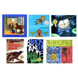 Caldecott Winning Collection Books   Set of 6 Office