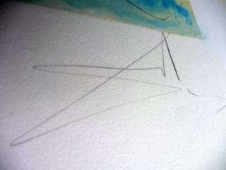 30 SALVADOR DALI TRIOMPHE de VENUS ART HAND SIGNED